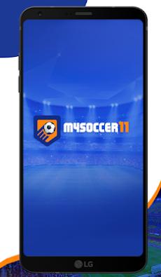 MYSOCCER11 - Football Lineup and Tactics Builder.のおすすめ画像1