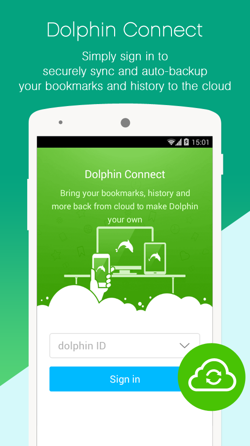 Dolphin Browser for Android - screenshot