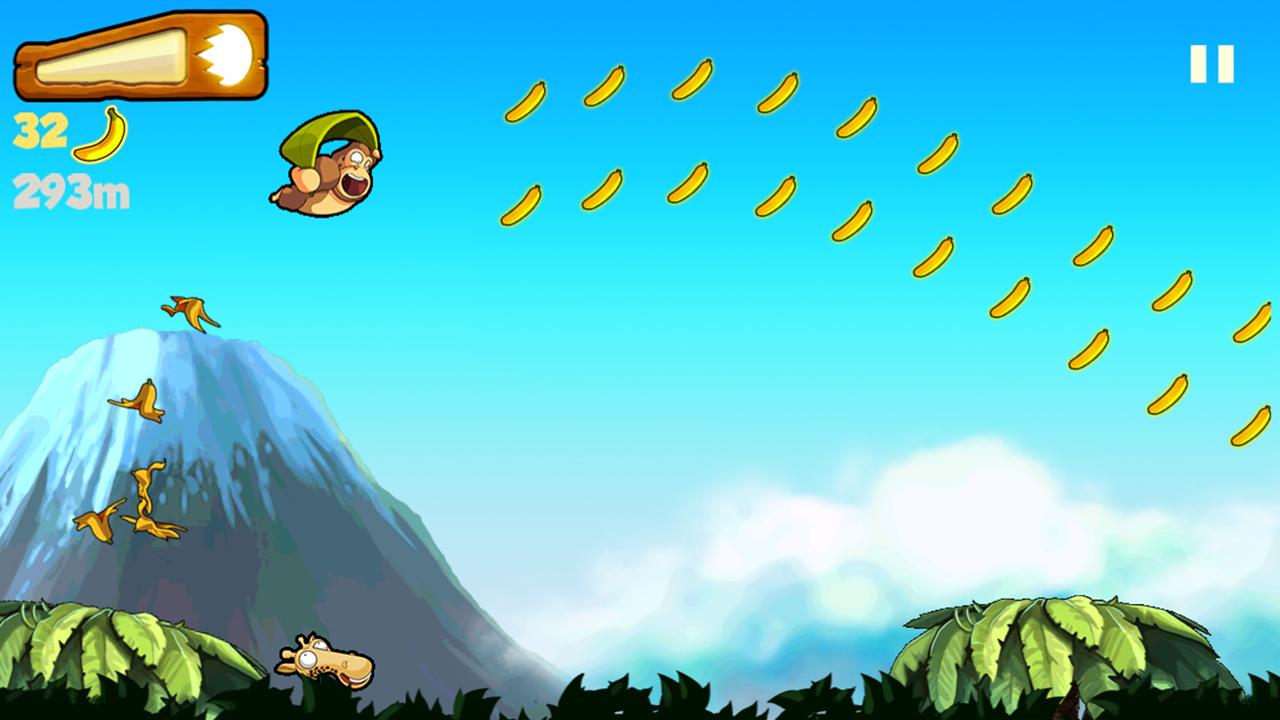 Screenshots of Banana Kong for iPhone