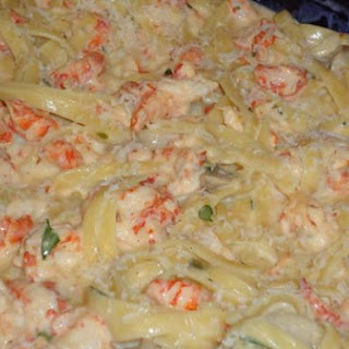 Crawfish Fettuccini Ala Louisiane'