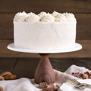 Brown Butter Cake.