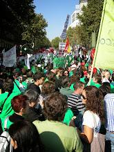 Photo: Manifestación del 22 de octubre de 2011 en favor de  la Educación Pública (Atocha-Sol)