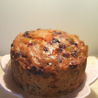 Pressure Cooker Three Ingredient Holiday Fruitcake Recipe
