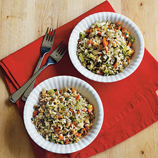 Brown Rice Pilaf With Vegetables Recipes.