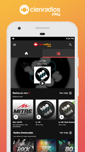 Cienradios Play 1.4.1 screenshots 2