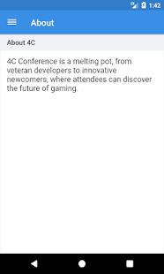 4C Conference - náhled