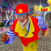 Crazy Clown Run - Running Game