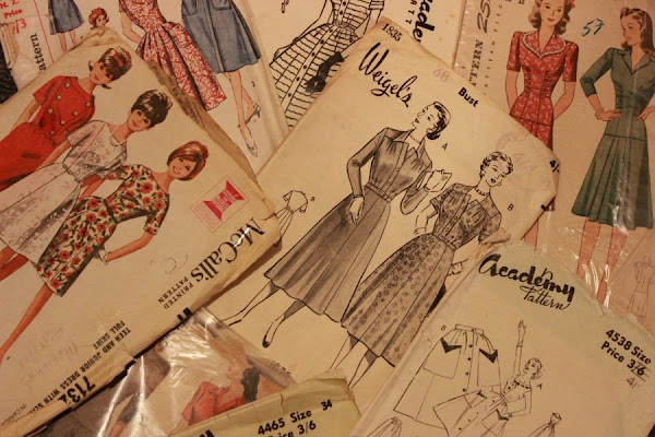 Vintage pattern happiness
