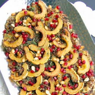 Maple-Roasted Delicata Squash Quinoa Salad.