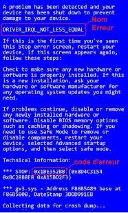 BSOD Les écrans bleus sous Windows - náhled