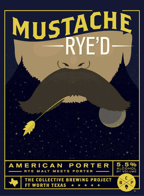 Logo of Collective Project Mustache Rye'D