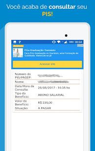 App Saldo PIS - Cotas, Abono, Rendimento APK for Windows Phone