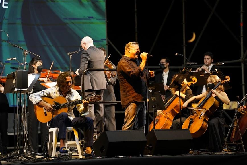 Diego Cruz, Tomatito y la Orquesta Ciudad de Almería (OCAL).