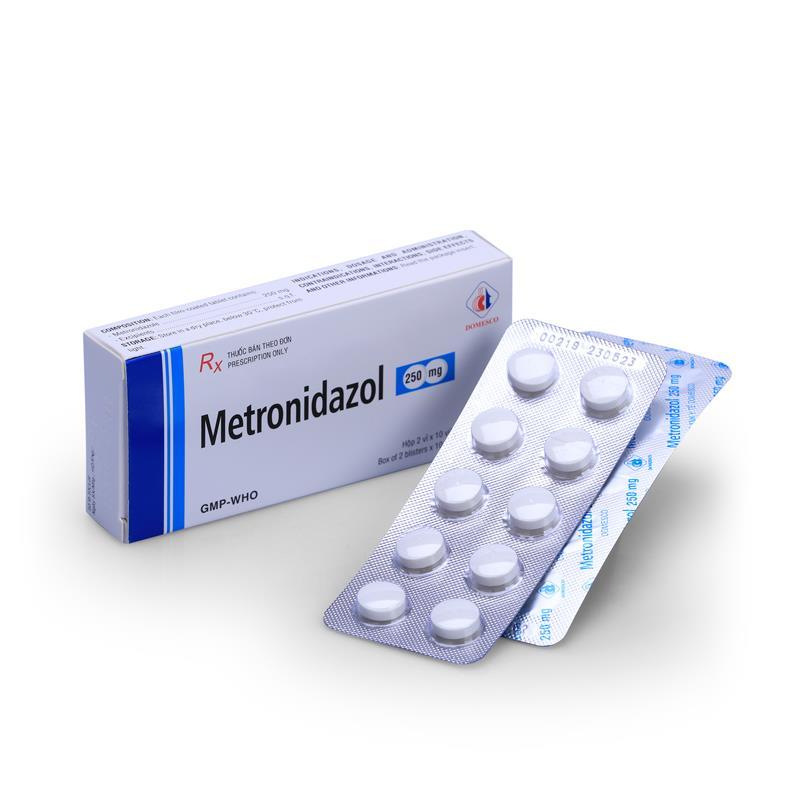 Metronidazol thường được sử dụng điều trị viêm âm đạo do vi khuẩn