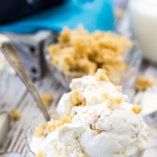 Rice Krispie Treat Ice Cream (No Churn)