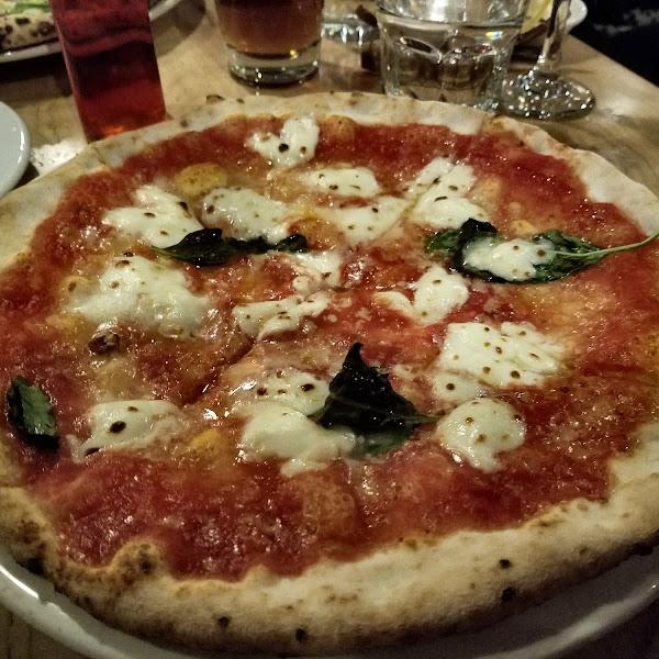Pizzeria Libretto GF Margherita Pizza