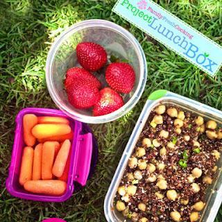 Quinoa & Chickpea Salad – Project LunchBox.