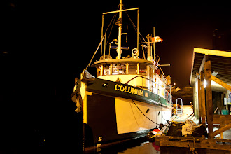 Photo: That night, we dock at Hartley Bay and the ship takes on a full tank of fresh water.