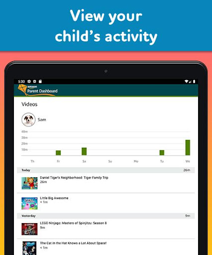 Amazon FreeTime Unlimited: Kids Shows, Games, More 2.0.0.203376 screenshots 14