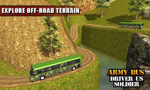Army Bus Driver US Soldier Transport Duty 2017 1.1.7 screenshots 2