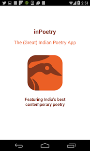 inPoetry- screenshot thumbnail