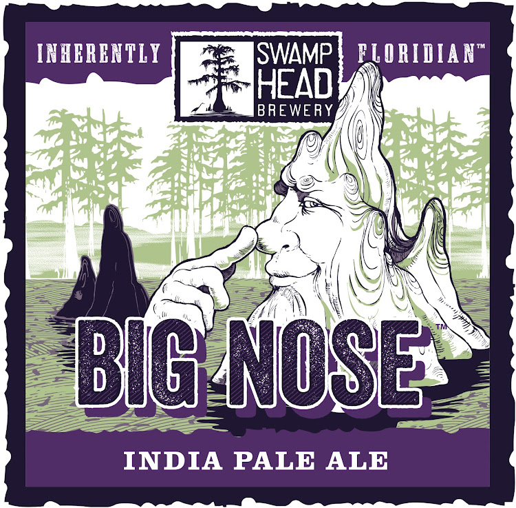 Logo of Swamp Head Big Nose IPA