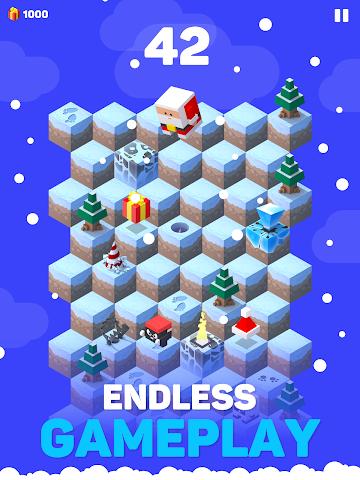 android Ice Hill: Endless Xmas Fun Screenshot 3