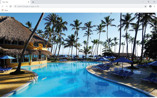 Punta Cana New Tab & Wallpapers Collection