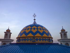 Photo: Kubah Masjid Nurul Huda Belitung Babel