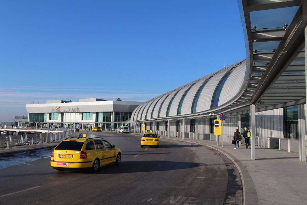 Budapeszt, lotnisko, taksówka