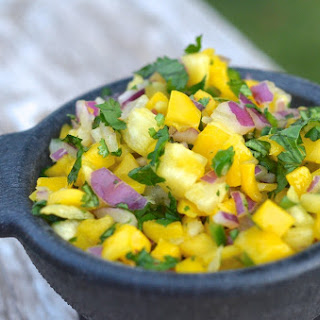 Mango Pineapple Salsa.