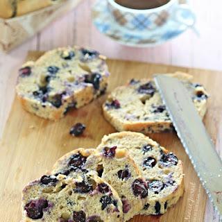 Blueberry Banana Loaf Cake Recipe
