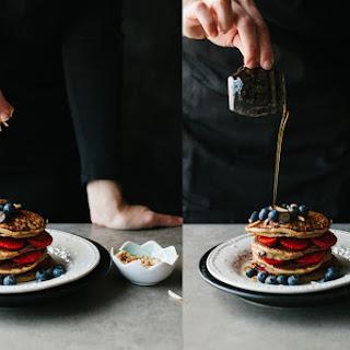Chocolate Chip Pancakes – Happy 2 Year Blogaversary