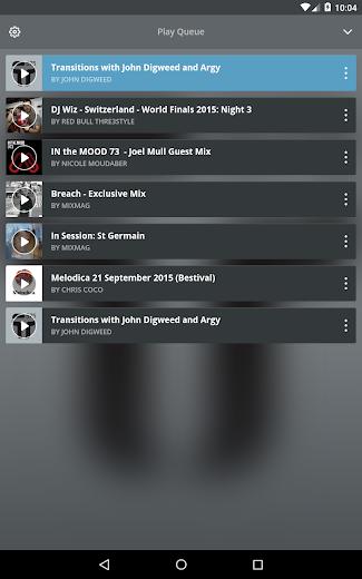 Screenshot 11 for Mixcloud's Android app'
