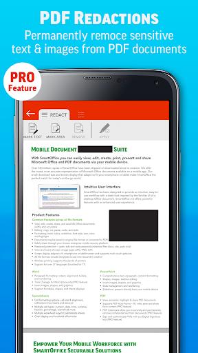 SmartOffice - View & Edit MS Office files & PDFs screenshot 6