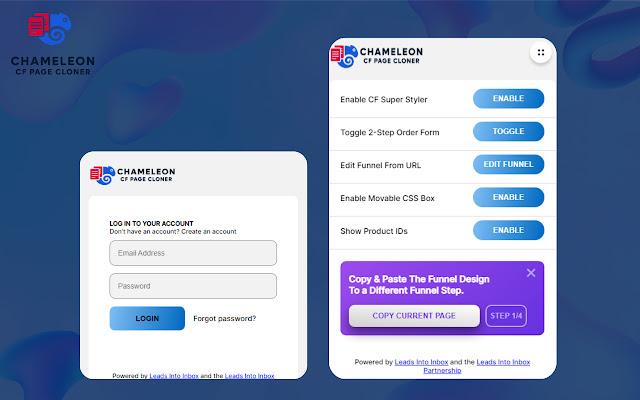 Chameleon CF Page Cloner