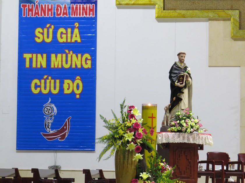 Videos: Giảng lễ tĩnh tâm mừng kính Thánh Đa Minh năm 2018