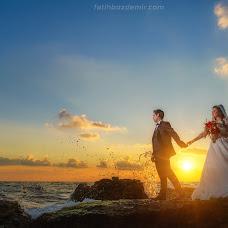 Wedding photographer Fatih Bozdemir (fatihbozdemir). Photo of 20.09.2018