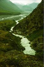 Photo: entlang des Kirgis - Ob, Nebenfluß