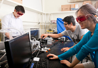 Photo: Insect Cybernetics Lab in AEL. Photo taken by Evan Rosen