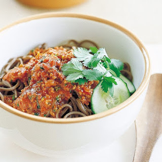 Buckwheat Noodles With Spicy Bolognaise (gluten-free)