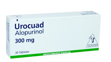 Urocuad 300Mg Tabletas   Caja X30Tab. Roche Alopurinol