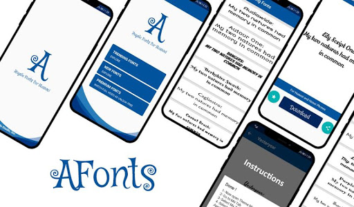 AFonts - Free Emui Fonts (Stylish Free Fonts) 2.0 screenshots 9