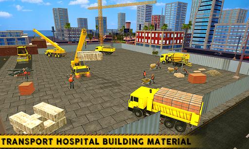 City Hospital Building Construction Building Games 1.1 Mod screenshots 1