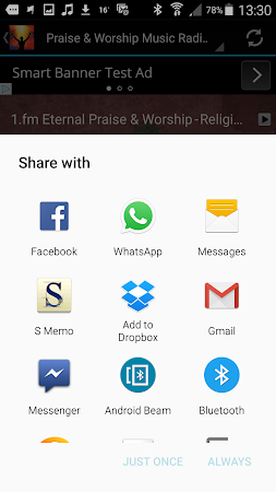 Praise & Worship Music Radio 1.0 screenshot 258693