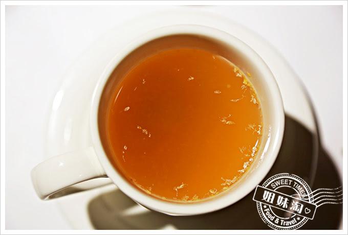 新國際西餐廳熱香柚子茶