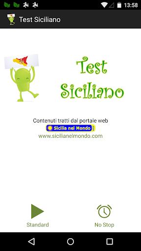 Test Siciliano