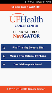 Clinical Trial NaviGATOR- screenshot thumbnail