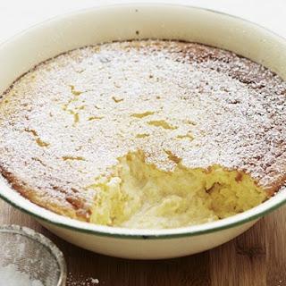 Pineapple Self-saucing Pudding.