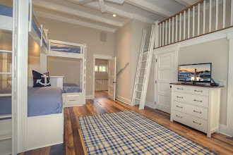 Photo: 2nd Floor bunk room with full bath. Bunk beds are Twin/Twin and Twin/Queen.